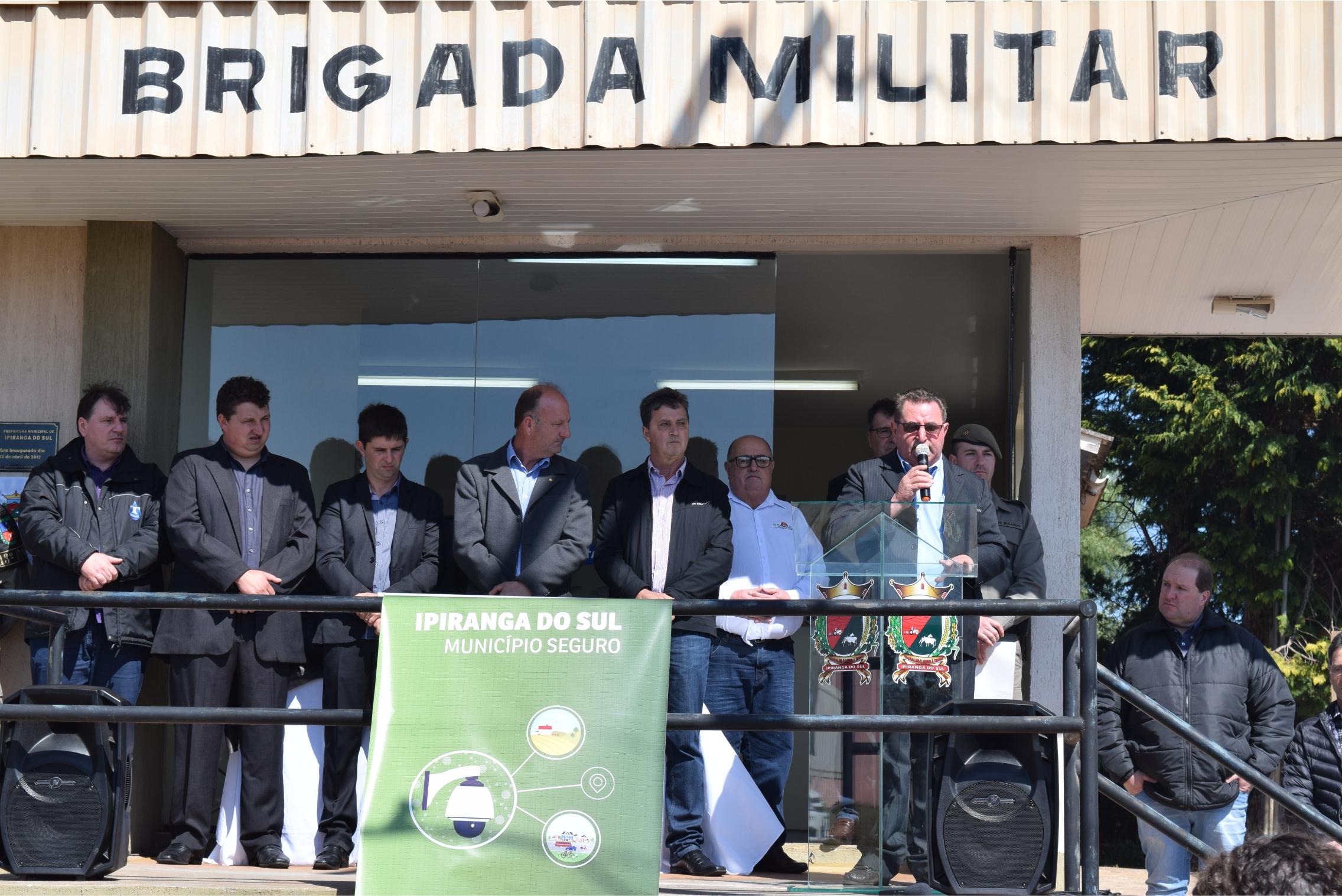 Creral fornece internet para vídeomonitoramento em Ipiranga do Sul