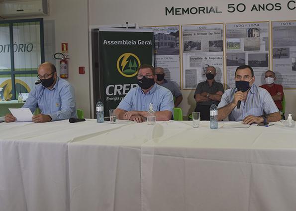 Assembleia Geral reelege João Alderi do Prado para presidência da Creral