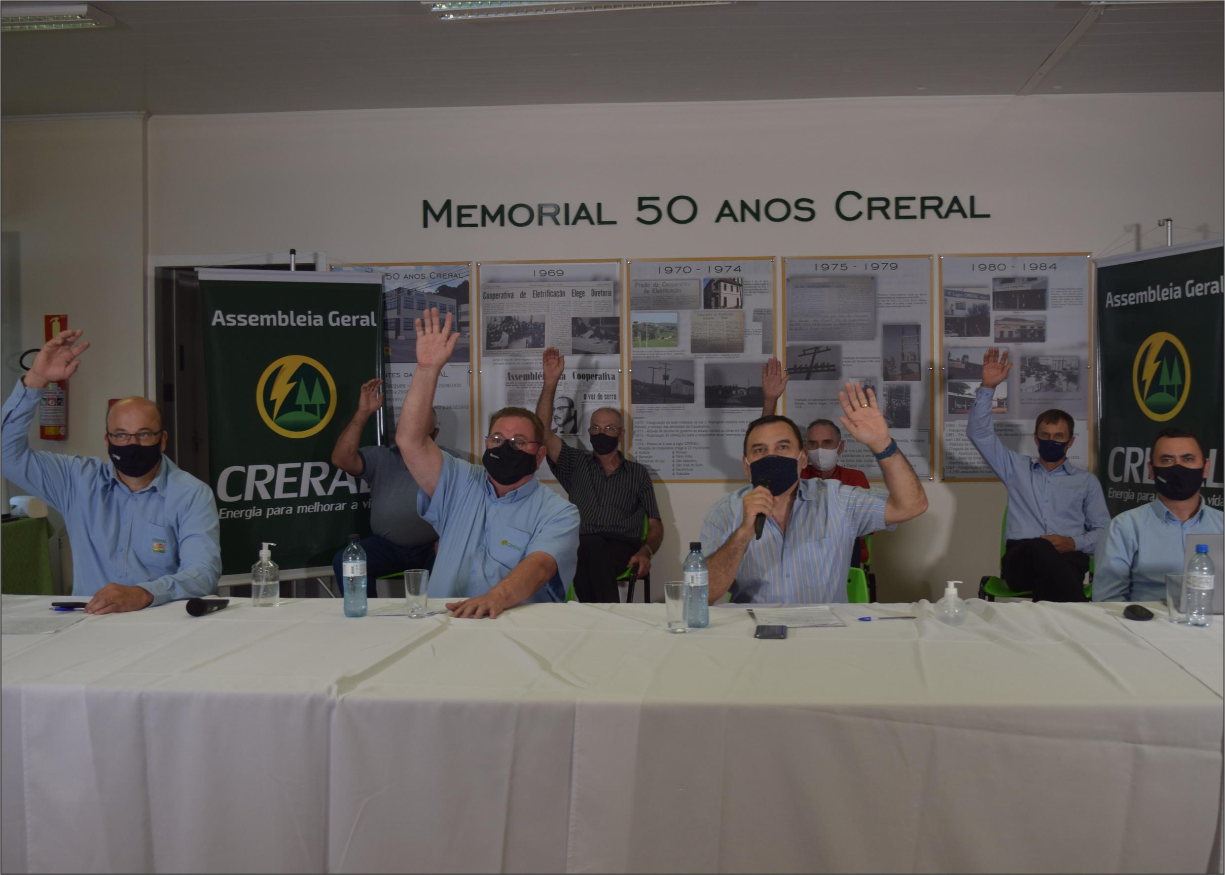 Creral realiza Assembleia Geral na modalidade semipresencial